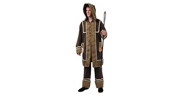 Disfraz esquimal hombre. Talla 50/52.: Amazon.es: Juguetes y juegos