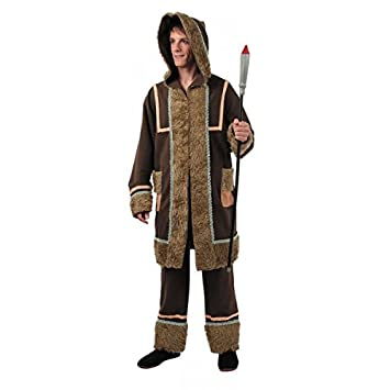 Disfraz esquimal hombre. Talla 50/52.: Amazon.es: Juguetes y ...