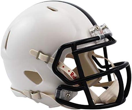 Blue Medium Riddell NCAA Penn State Nittany Lions Full Size Speed Replica Helmet