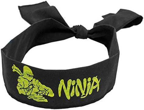 Cinta para la cabeza Ninja: Amazon.es: Deportes y aire libre