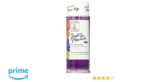 Amazoncom Design Master Just For Flowers Spray Dye 11 Oz Purple