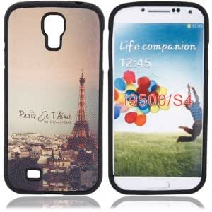 Plastic Protective Case with Twilight Tower Pattern for Samsung i9500