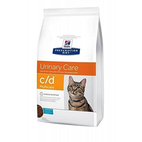 Hill's Prescription Diet Feline C/D Troubles Urinaires Nourriture pour Chat Croquettes 1.5kg Poisson