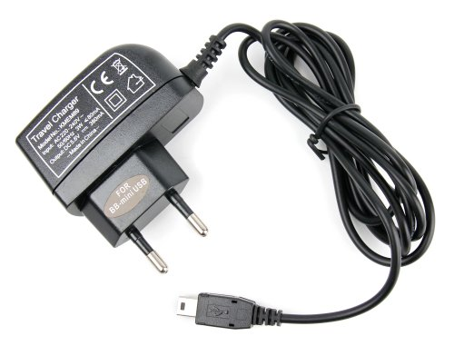 Mini-USB-Ladegerät für Deutschland & Europa für Ihr Teasi one2 / one3 / pro / Volt / Pro Pulse Wander- und Fahrradnavi