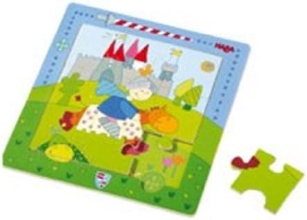 HABA 2301 - Puzzle magnético (9 piezas), diseño de caballero: Amazon.es: Juguetes y juegos
