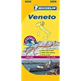 Michelin Map Italy: Veneto 355 (Maps/Country (Michelin))