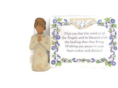 Willow Tree Prayer of Peace Figurine An Ideal Remembrance Sympathy-Condolence Gift For Loss Of Mother/Father/Loved One
