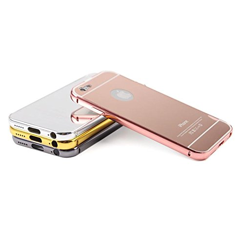 RadiantOrchid 1Pc Mirror Metal Case Cover For Iphone 6/6S 4.7