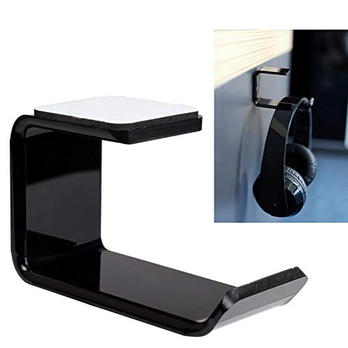TOOGOO Durable Headphone Headset Holder Hanger Earphone Wall/Desk Display Stand Bracket Hanger Headphone