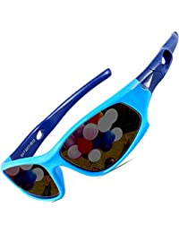 Kids Hot TR90 Polarized Sunglasses Wayfarer Style For...