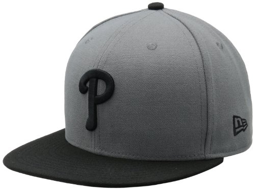 MLB Philadelphia Phillies MLB Basic Stm/Gry 59Fifty, STORM GRAY/BLACK, 7