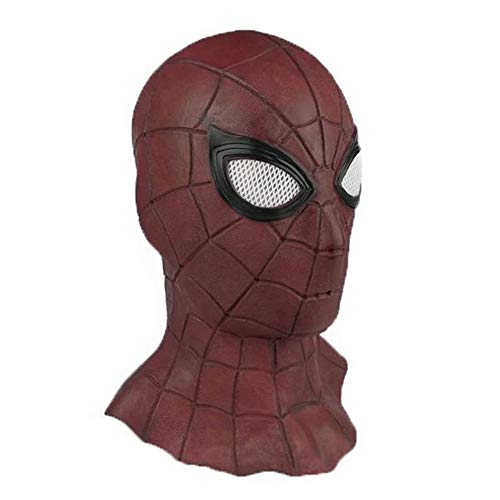 (Halloween Comicon Mask Latex Avengers Spiderman Superhero 2018 Costume)