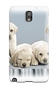 Galaxy Note 3 Case, Premium Protective Case With Awesome Look - Cute Puppies