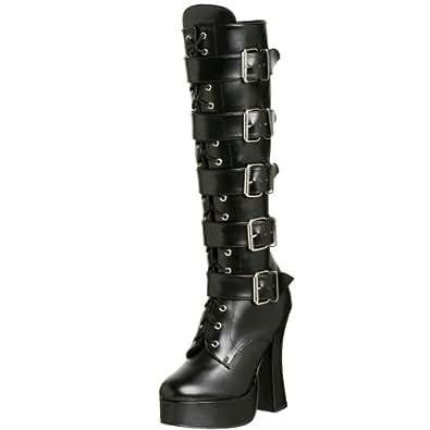 Pleaser Women's Electra-2042,Black,6 M