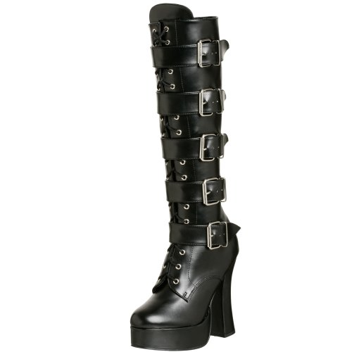 [Pleaser Women's Electra-2042,Black,12 M] (Halloween Costumes Platform Shoes)
