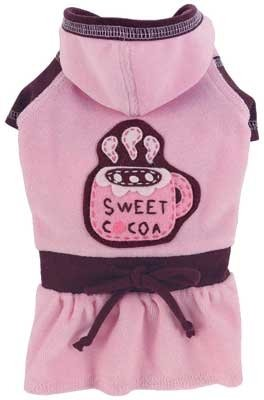 Ruff Ruff Couture 0475-8608-PC-M Sweet Cocoa Dress for Dogs, Medium (Cocoa Couture)