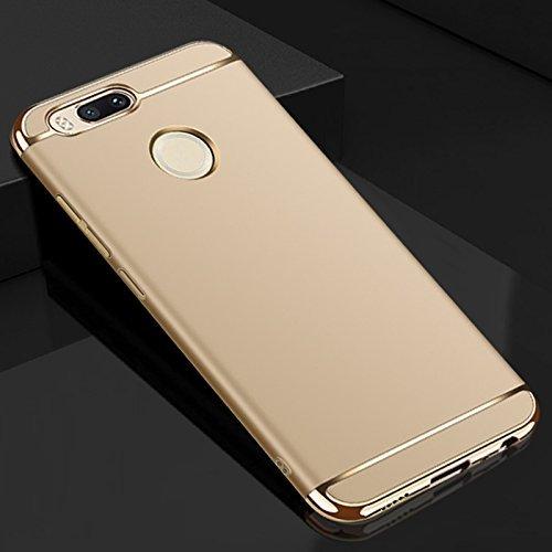 top fashion ecca7 6d167 mobbysol® Xiaomi Redmi Mi A1 / redmi mia1 3-in-1 Shockproof* Dual Layer  Thin Back Chrome 3 Piece Hybrid Protective Back Case Cover for Xiaomi Redmi  ...