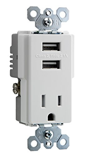 Charger Tamper Resistant Receptacle Outlet product image