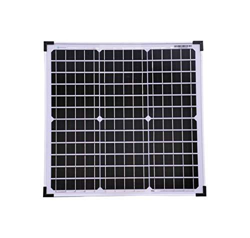 solartronics Solarmodul 30 Watt Mono Solarpanel Solarzelle 5 Busbars Photovoltaik 90561