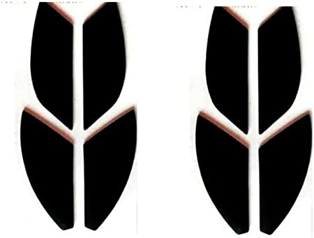 Mouse Skates/Mouse Feet Pads for Finalmouse Scream one/Finalmouse 2016 Gaming Mouse (Pack of 2, 0.6mm)