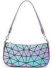 LOVEVOOK Handtas dames geometrische tas schoudertassen unieke portemonnee, Onderarmtas, M