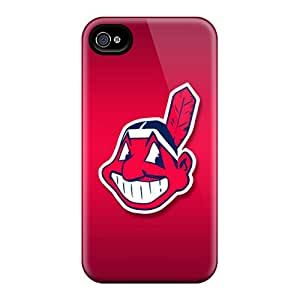Iphone 6 KOO18762MAwR Customized Stylish Cleveland Indians Pictures Excellent Hard Cell-phone Cases -AaronBlanchette