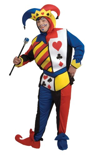 Playing Card Joker Adult Costume - Large