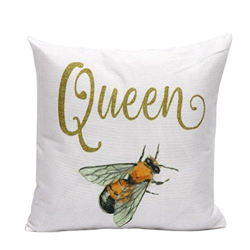 Gotd Light Color Animal Flower Letters Decorations Decor Throw Pillow Case Sofa Waist Throw Cushion Cover Home Decor