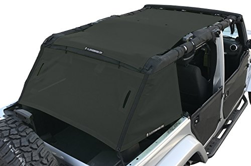 Alien Sunshade Jeep Wrangler Full Cage Shade Top Protects