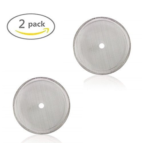 French Press Coffee Maker Universal 4,6, or 8 Cup Filter Screen (2 Pack) Replaces Bent and Worn French Press Mesh Screens (Bonjour French Cup Press 3)