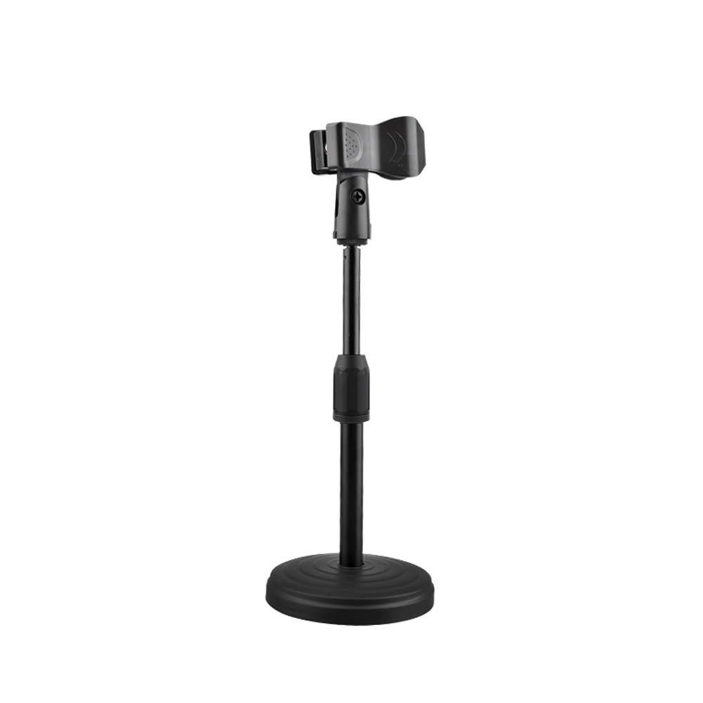 Pie de micrófono, pie de micro, pinza para micrófono de mesa ...
