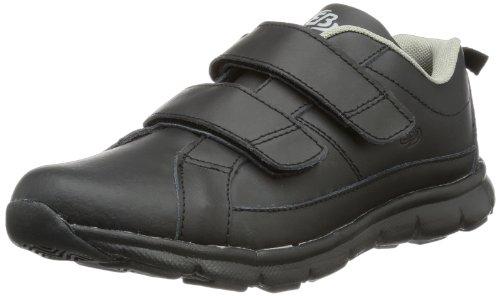 Bruetting Spiridon Classic V - Zapatillas deportivas para interior de cuero unisex negro - negro
