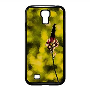 Flower 2 Watercolor style Cover Samsung Galaxy S4 I9500 Case (Flowers Watercolor style Cover Samsung Galaxy S4 I9500 Case)