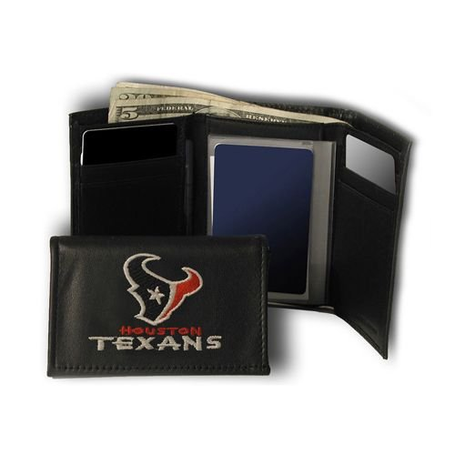 Rico Industries NFL Houston Texans Embroidered Trifold ()