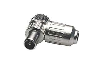 Adaptador de la señal de plata Avalva 0126-M