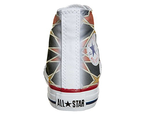 Converse Customized Adulte - chaussures coutume (produit artisanal) Mosaic