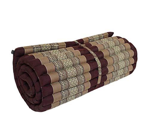 Colchón ortopédico tailandés de meditación tradicional de ceiba con almohada a juego para masaje de yoga o relajación: Amazon.es: Hogar