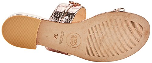 45315 Or Sandales Gioseppo Gioseppo 45315 Gris Femme Ouvert Cobre Bout xvEBFwa