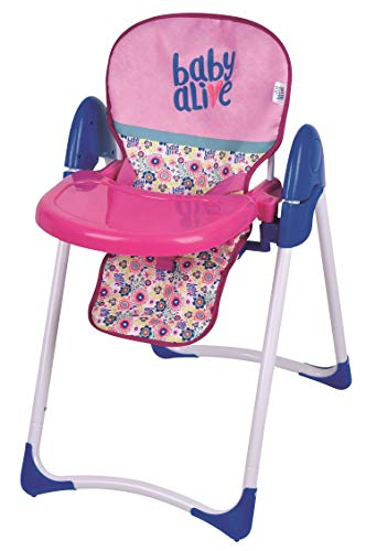 Baby Alive Doll Deluxe High Chair Toy (Renewed)