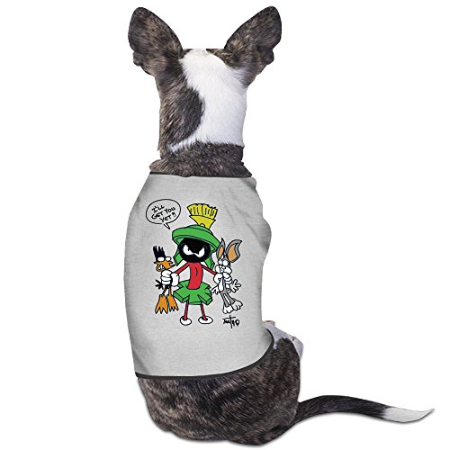 Daffy Duck Space Jam Costume (Cool Funny Marvin The Martian Cartoon Pet Dog T Shirt.)