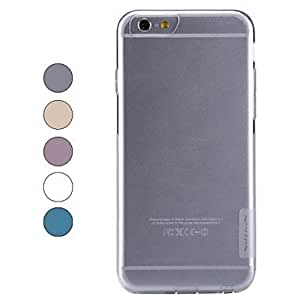 TOPQQ NILLKIN Ultra-thin Protective TPU Back Cover Case for iPhone 6 , Golden