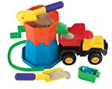 : International Playthings Sandmill Dump Truck Set