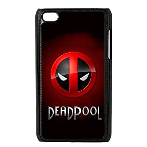 DIY Marvel Comics Hero Deadpool Wade Winston Wilson Printed on IPod Touch 4/4G/4th Case Cover 03