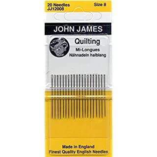 Colonial Needle Quilting/Betweens Hand Needles-Size 8 20/Pkg