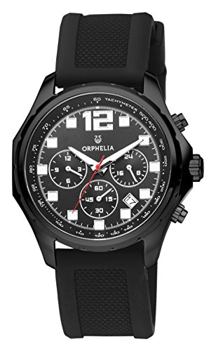 ORPHELIA La Grande Men's Black Plastic watch-OR86701