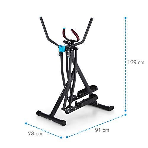 Silver Capital Sport Crosswalker /• Cross Trainer /• Exercise Bike /• Vertical and Horizontal Swinging Motion /• Built-in Training Computer /• Foam Padding /• Beverage Holder /• Foldable /• Black