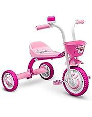 Triciclo Infantil em alumínio You 3 Girl, Nathor, Rosa e Branco