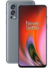 OnePlus Nord 2 5G 8 GB RAM 128 GB sim-vrije smartphone met drievoudige camera en 65W Warp Charge - 2 jaar garantie - Grey Sierra