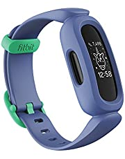 Fitbit Ace 3 Activity Tracker for Kids 6+ One Size, Cosmic Blue / Green - Singapore Edition