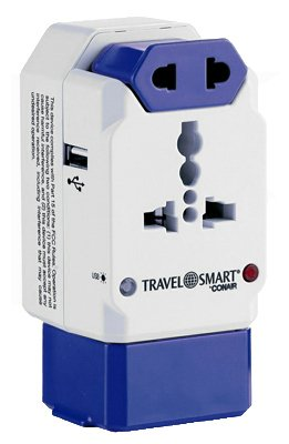 Travel-Smart-By-Conair-TS238AP-All-In-One-International-Plug-Adapter-with-USB-Surge-Protection-For-Europe-Asia-Aus